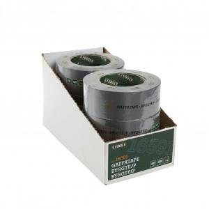Gaffatape 48 mm x 50 m,  sølv