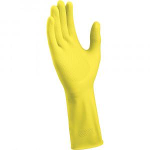 Gummihandsker - gul - basic