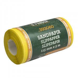 Sandpapir 115mm x 5m - korn 60 (p)