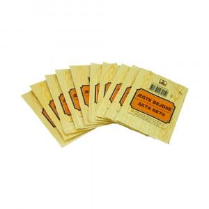 Vand/spritbejdse pulver nr.   74 kastanje brun