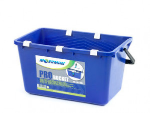 Moerman PRO spand til vinduesvask med sigte og krog, 18 liter
