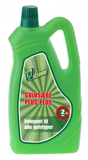 Welldone gulvsæbe ++ 2L