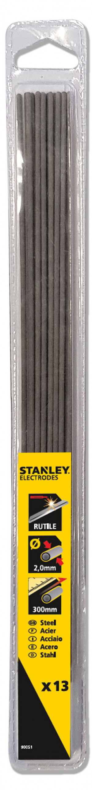 Stanley elektroder rutile 2,0 mm 13 stk.