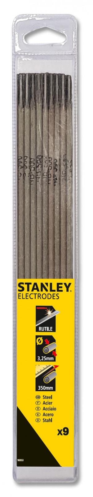 Stanley elektroder rutile 3,25 mm 9 stk.