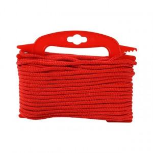 Flisesnor 6 mm, 20 m, rød