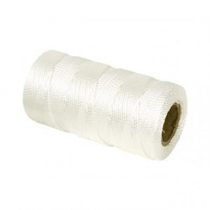 Murersnor 1, 2 mm,  120 m,  hvid