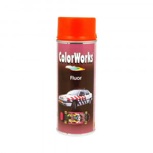 COLORW.  SPR.  FLOUR RØD 400ML