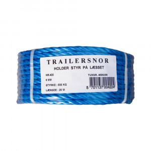 TRAILERSNOR 6MM - 20M