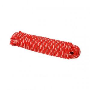 Reb 8 mm,   15 m,   rød/hvid