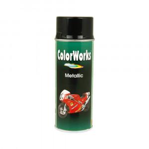 Spraymaling Met Sølv