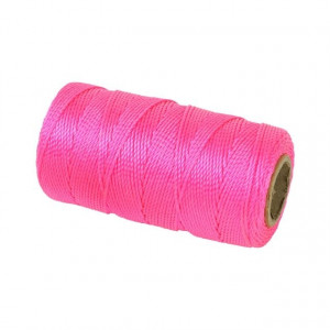 Murersnor 1, 2 mm,   120 m,  rosa