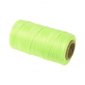 Murersnor 1, 2 mm,   120 m,  grøn